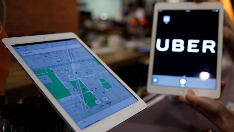 Uber biedt met zijn apps taxiritjes en andere diensten aan in meer dan 500 grote steden.