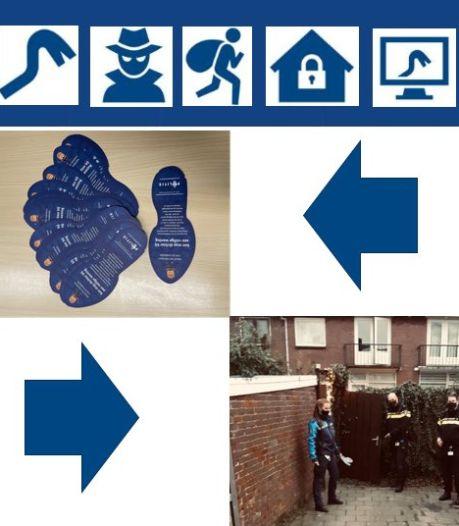 Een blauw politievoetje op de mat gevonden? Dit is wat het betekent