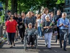 Gedenkteken voor vermoorde Rinia Chitanie onthuld in Gijsbrecht van Aemstelpark