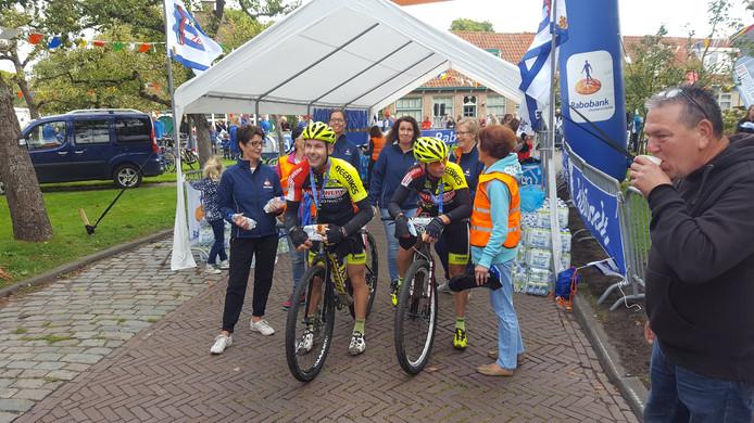 Dat Dick van den Berg en Dirk Verstraate als eerste zouden finishen in de MTB-tocht was geen doel voor het duo, maar slechts het begin van nog meer moois.