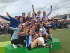 Korfbalsters Be Quick  winnen nationale veldtitel