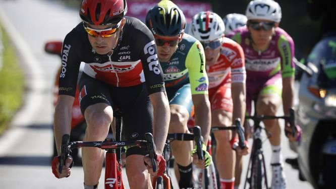 """Sander Armée reed een goede Ronde van Italië: """"De hele ploeg heeft zich drie weken kunnen tonen"""""""