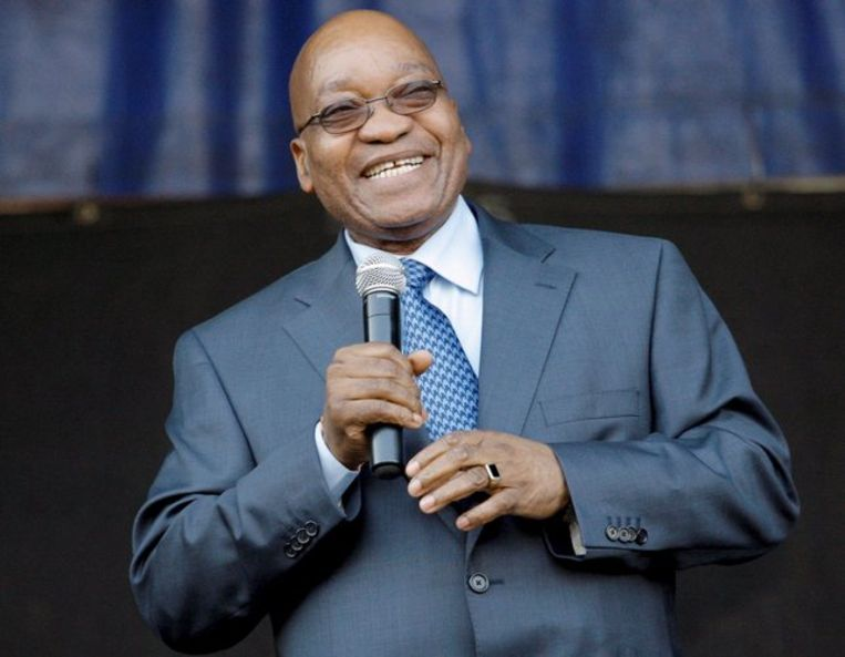 Jacob Zuma, 4 augustus. FOTO EPA/Kim Ludbrook Beeld