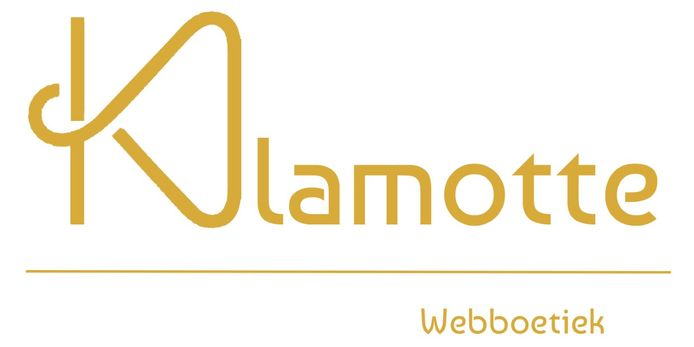 Het logo van webboetiek Klamotte