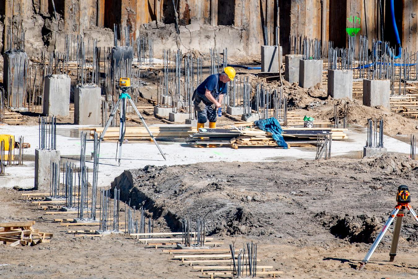 De bouwsector wil de komende jaren 200 miljard euro in nieuwbouw investeren.