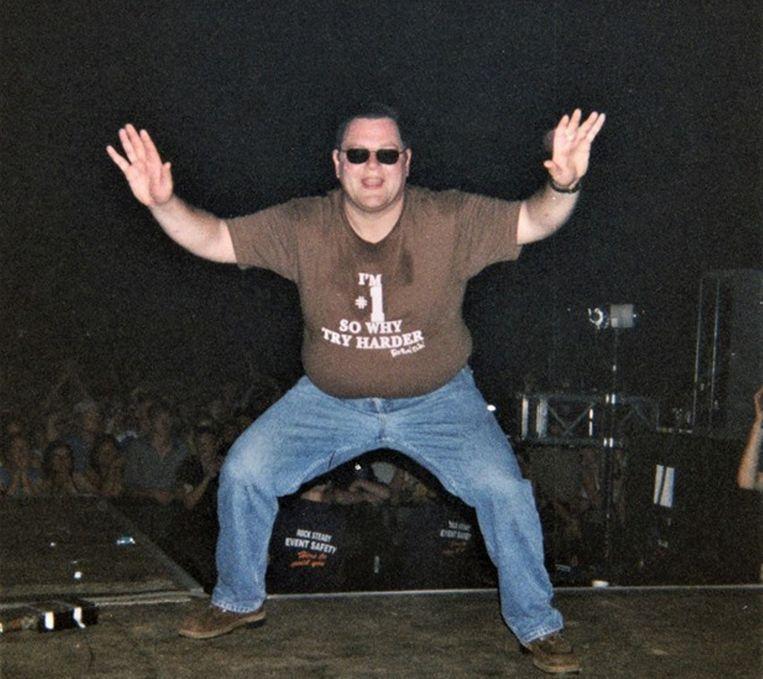 Peter amuseerde zich destijds te pletter op het podium.