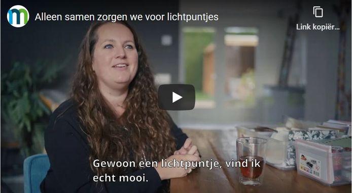 Saskia Veldhuis van Feestje op de Deurmat.