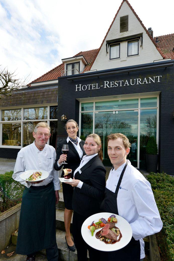 Het team van Restaurant De Rijsserberg