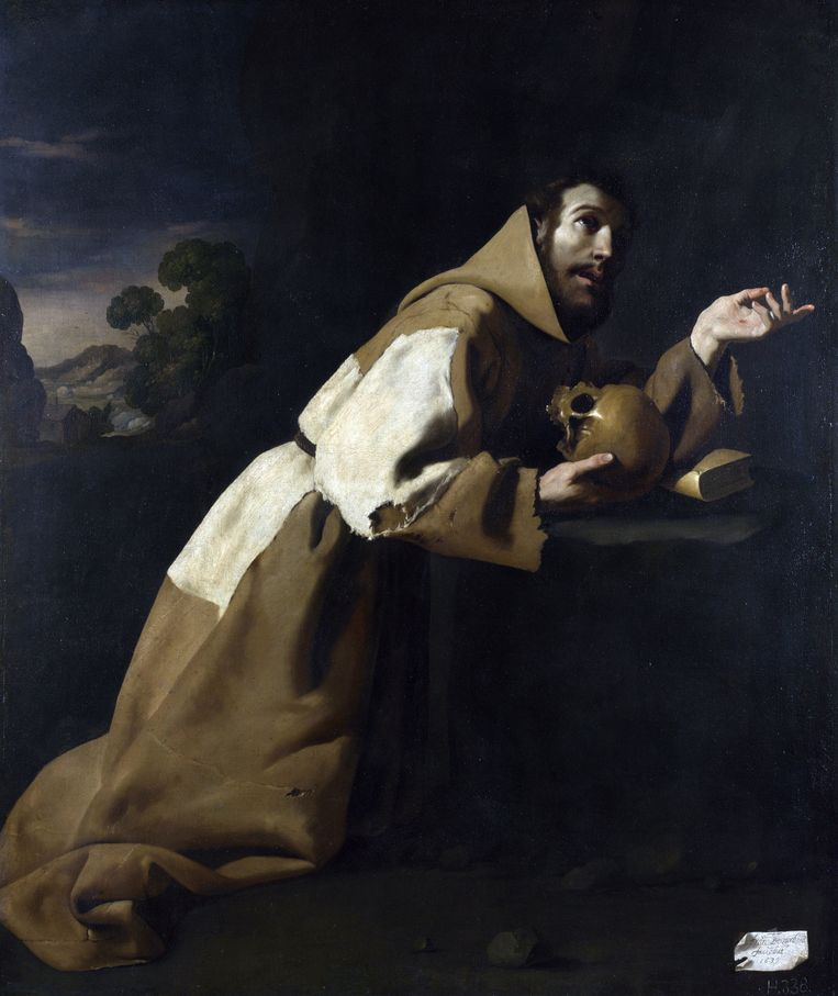 Schilder: Francisco de Zurbarán. 'Hij vertegenwoordigt een manier van denken die de essentie is van Spanje.' Beeld null