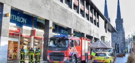 Weer onderzoek in Tilburgse Kruidvat en aangrenzende gebouwen, personeel krijgt prikkelende ogen in magazijn