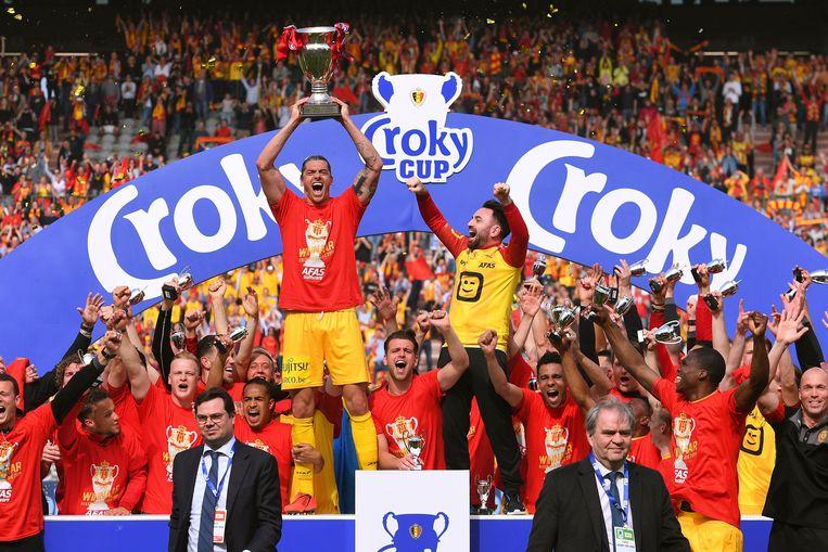 KV Mechelen won op 1 mei de Croky Cup in de finale tegen AA Gent.