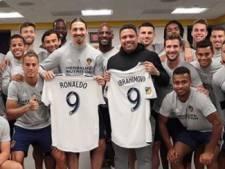 Ronaldo bezoekt Zlatan, Botteghin showt collectie