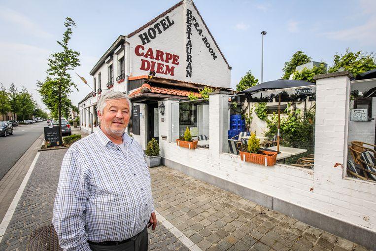 Luc Schaek van hotel-restaurant Carpe Diem is de initiatiefnemer van de actie.