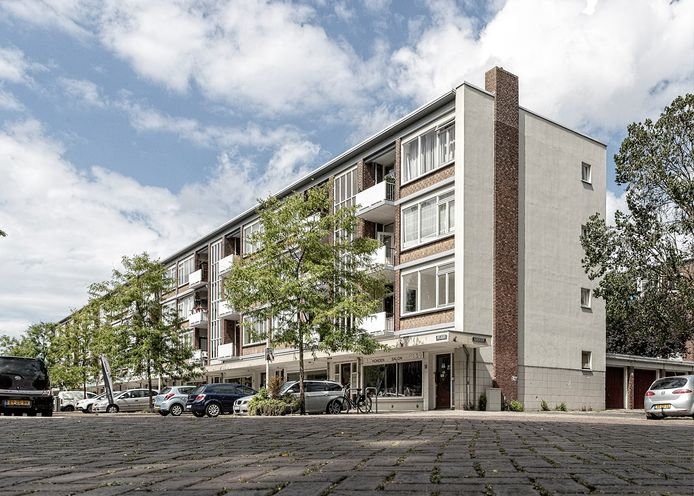 Alle woonblokken in de hele buurt moeten tegen de vlakte, behalve deze aan De Zichten, en er rechtsachter. Rondom komen flats en complexen van minstens zes verdiepingen hoog.