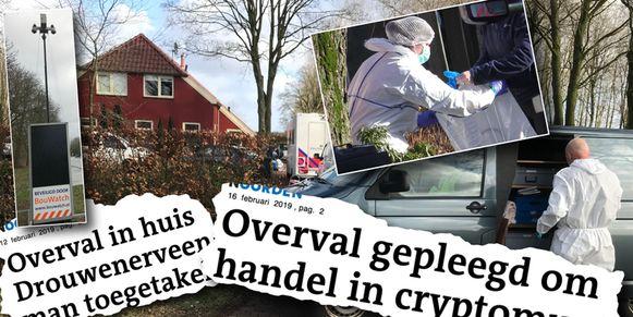 Man in Drouwenerveen gemarteld met boormachine, terwijl 4-jarige ook thuis was.