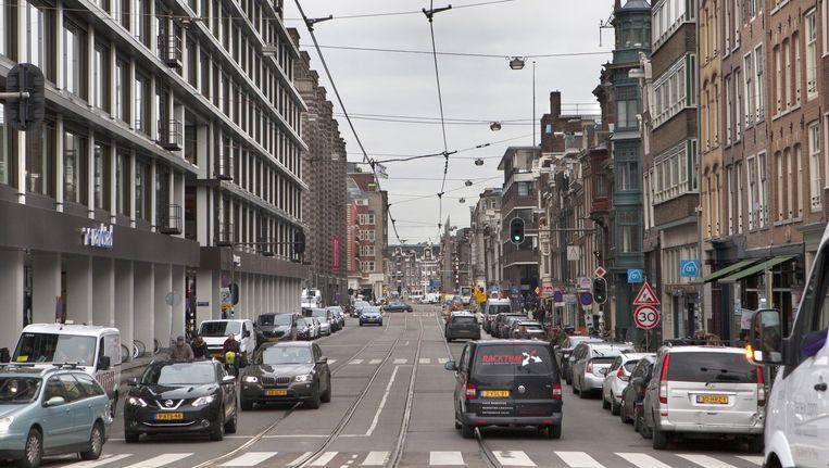 De Vijzelstraat in november 2015 Beeld Floris Lok