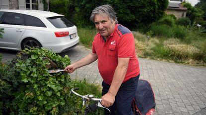 Postbode Hilaire gaat met pensioen