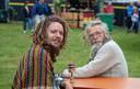 Robert-Jan Mastenbroek en Sietse Pater alias Rasta Foto Roxana Keizer