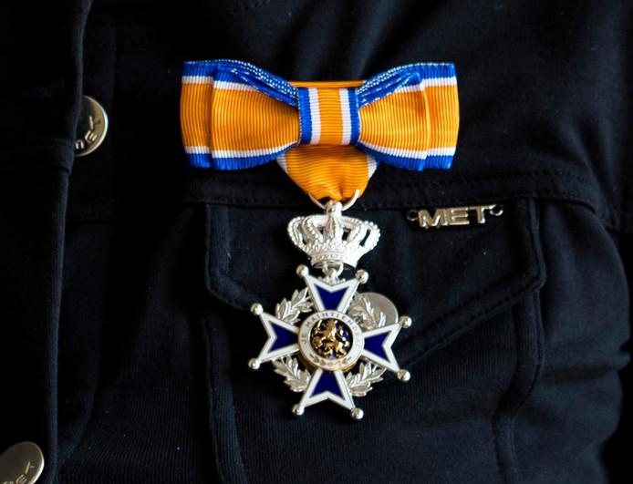 Koninklijke onderscheiding. Foto ter illustratie.