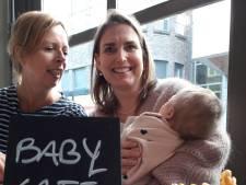 In het Bossche Babycafé worden stralende billetjes beloofd