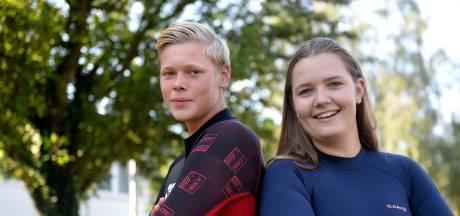 Hengeloërs nemen voor ALS revanche in Amsterdamse grachten