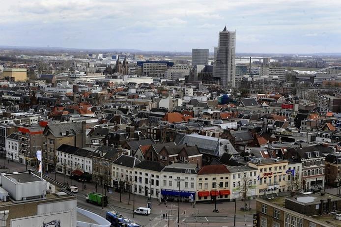 De binnenstad van Arnhem.