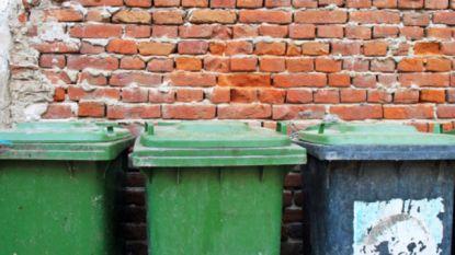 Afvalcontainer op Dorpsplein