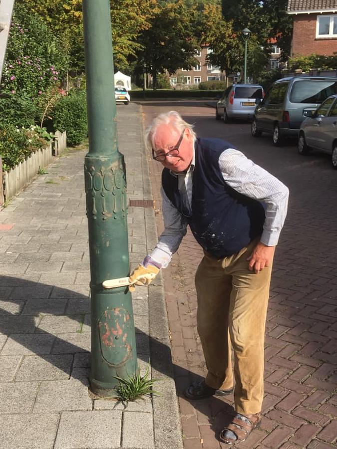In de Graafsewijk-Noord zijn bewoners zelf aan de slag gegaan met 95 lantaarnpalen