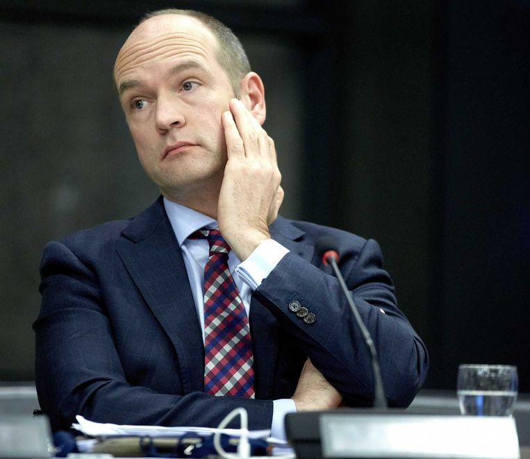 Gert-Jan Segers van de ChristenUnie. Beeld anp