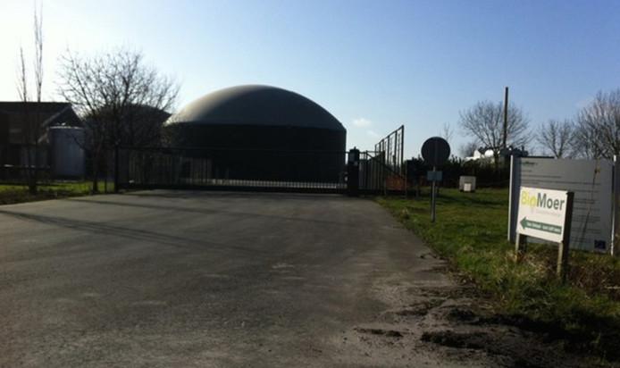 Biomoer in Moerstraten.