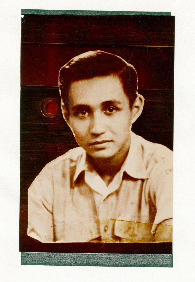 'Mijn vader was een heel mooie man. Charmant, ook.' Beeld Eddo Hartman