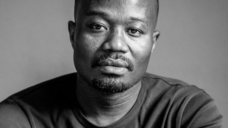 Afriyie, naast activist beveiliger van beroep, verloor zijn licentie en zo zijn baan door de aanklacht. Beeld anp