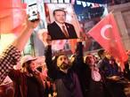Erdogan ontkomt nipt aan nederlaag
