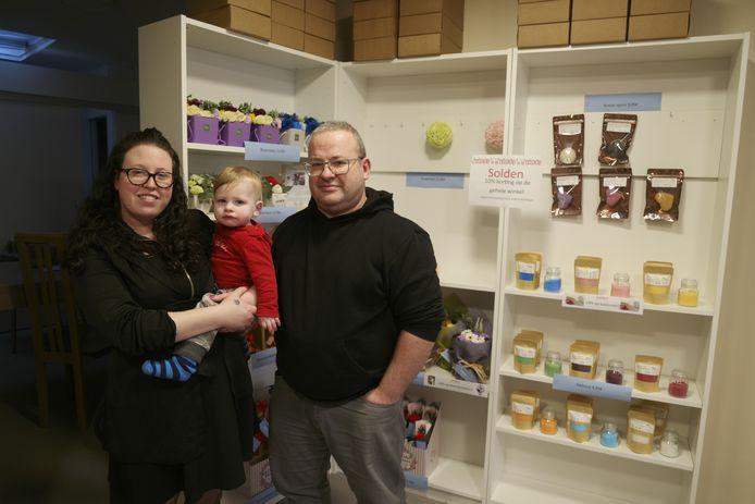 Katinka en Nico openden in Aarschot een speciaalzaak met douche- en badproducten