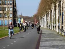 In half uurtje fietsen van IJsselstein naar Utrecht