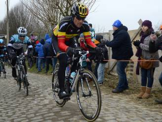 Tom Boonen start niet in Kuurne-Brussel-Kuurne