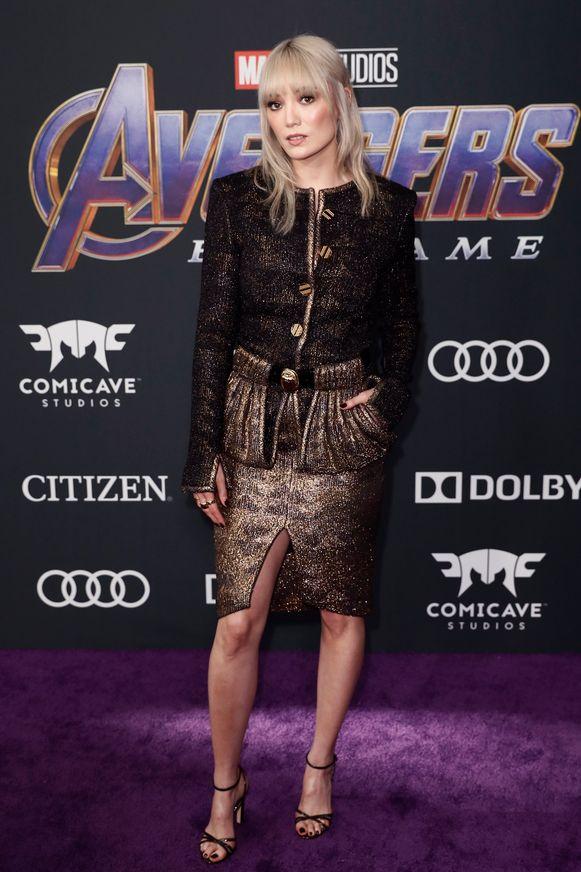 De Franse actrice Pom Klementieff speelt Mantis in de franchise.