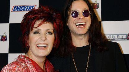 Sharon Osbourne voelt mond amper na facelift