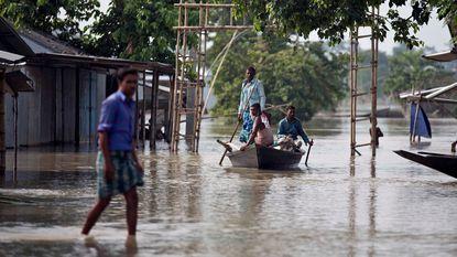 Al meer dan 300 doden bij overstromingen in zuiden van Azië