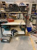 De koffers met de duurste merkmachines zijn van de planken van het magazijn van ZeeuwsWerk gehaald.