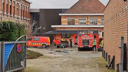 Na meerdere inbraken nu brand in leegstaand schoolgebouw GISO: gemeente sluit site meteen af