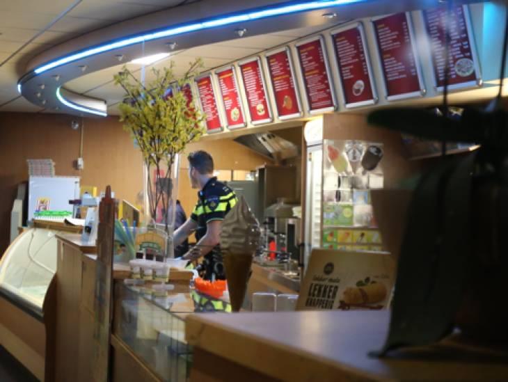 Nieuwe beelden overval cafetaria De Hoeve in Rosmalen