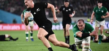 Nieuw-Zeeland treft Engeland in halve finale WK rugby