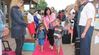 Sint-Amandus Airlines vliegt schooljaar in