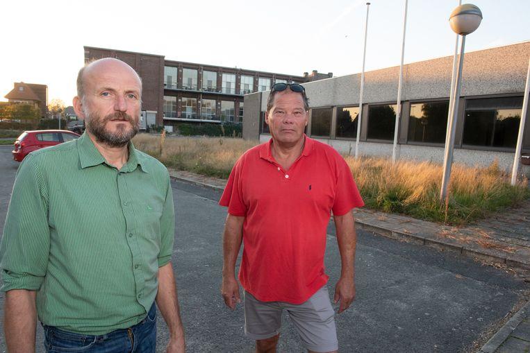 Steven Bettens en Dirk Gezels, voortrekkers van het protest, halen hun slag thuis.