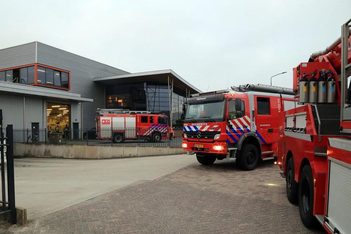 De brand in Helmond.