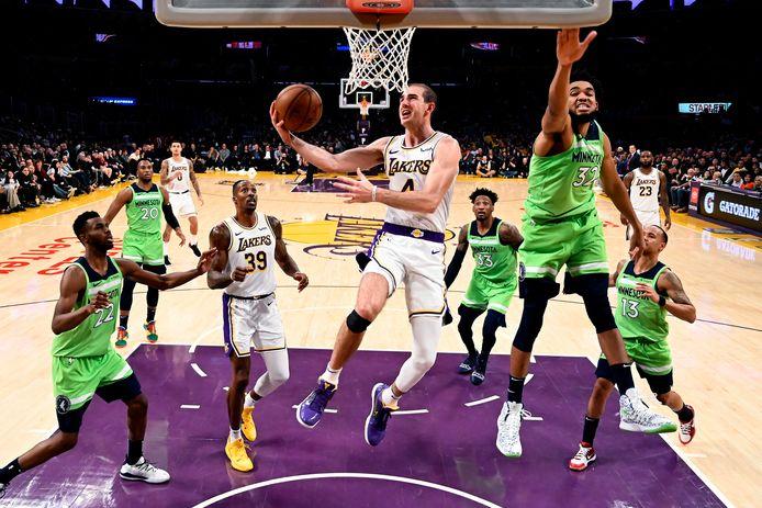 LA Lakers tegen Minnesota Timberwolves.