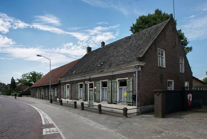 De boerderij van de gebroeders Van der Heijden.
