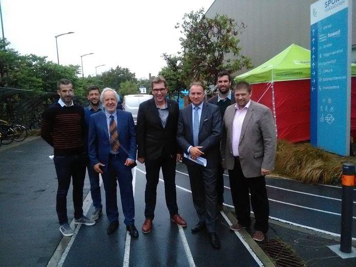 Sport Vlaanderen, Howest en de stad Brugge slaan de handen in elkaar voor het maken van een masterplan om de site Sport Vlaanderen in Brugge