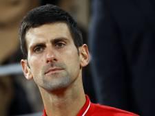 Djokovic ne disputera pas le Masters de Paris